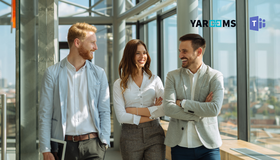 Case study: implementing the YAROOMS Workplace solution via Microsoft Teams / YAROOMS