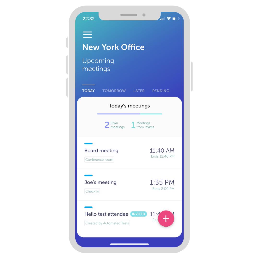 YAROOMS Mobile App