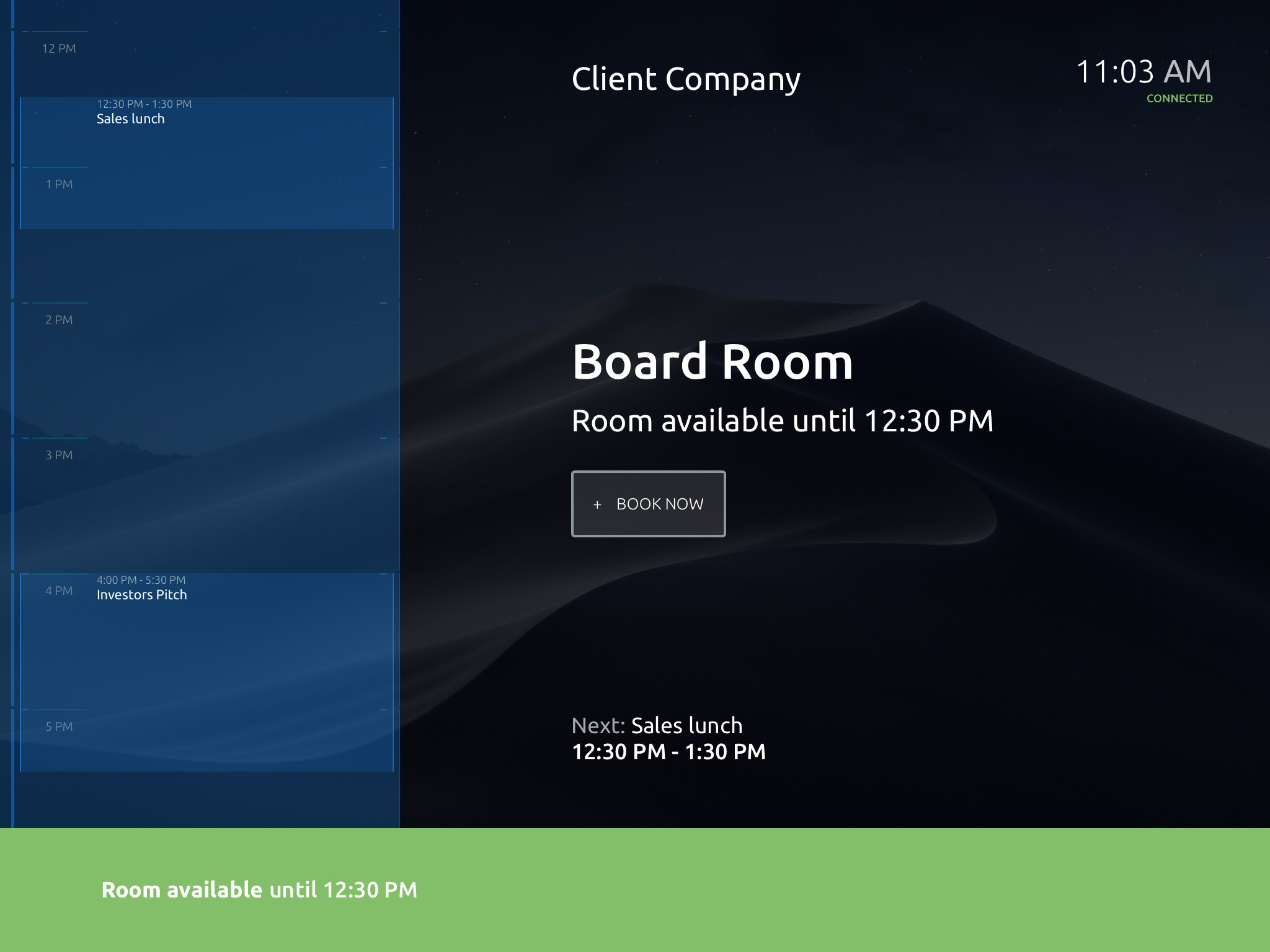 Tablet app - available