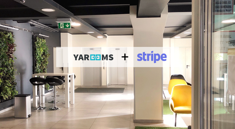 Power to Coworking spaces - Stripe payments and booking credits system / YAROOMS
