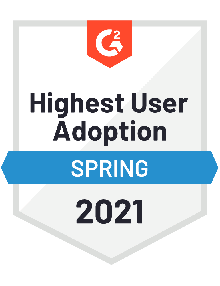 Highest User Adoption